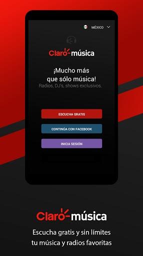 Claro Música pc screenshot 1