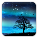 Aurora Free Live Wallpaper icon