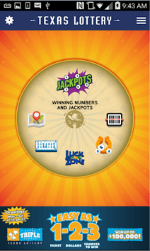 Texas Lottery Official App pc screenshot 1