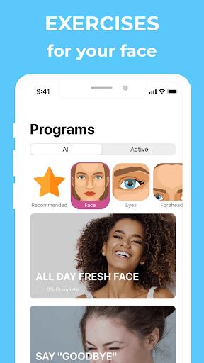Face Yoga: Facial Exercises & Workout for Women PC screenshot 3