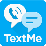 Text Me: Text Free, Call Free, Second Phone Number for pc logo