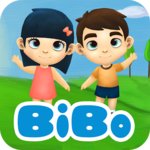 Learn Reading, Speaking English for Kids - BiBo for pc logo
