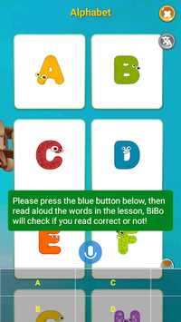 Learn Reading, Speaking English for Kids - BiBo pc screenshot 1