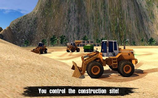 Loader & Dump Truck Hill SIM pc screenshot 1