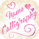 Name Art on Photo Love Calligraphy icon