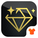 Black Diamond Theme - Launcher 3D Theme icon