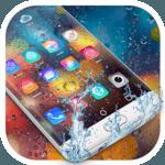 Colored Rain Drops Launcher Theme icon