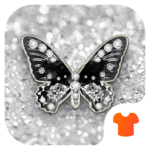 Diamond Butterfly Theme icon