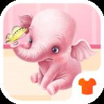 Cartoon Theme - Pink Elephant icon