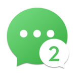 2Face-2 Accounts for whatsapp&clone apps icon