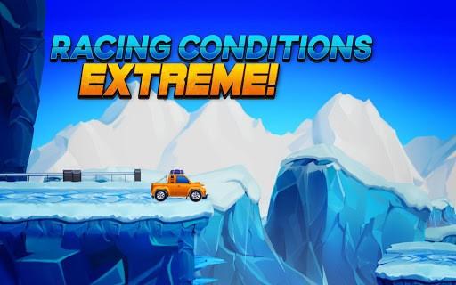 Arctic roads: car racing game pc screenshot 1