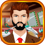 Beard Salon Crazy Girls Games icon