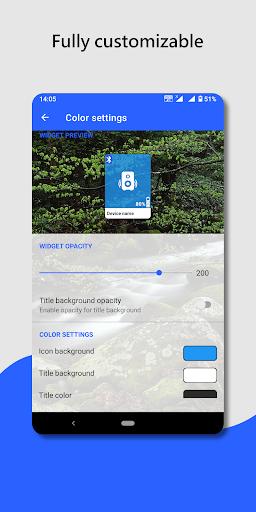 Bluetooth audio device widget: connect, play music PC screenshot 3