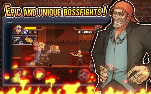 Fist of Rage: 2D Battle Platformer pc screenshot 1