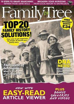 Family Tree Magazine pc screenshot 1