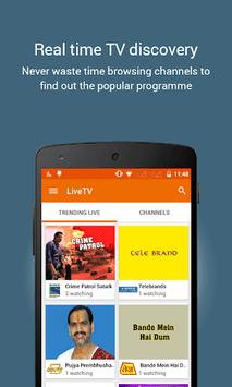 YuppTV - LiveTV Movies Shows pc screenshot 1