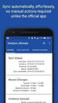 Autosync for OneDrive - OneSync pc screenshot 2