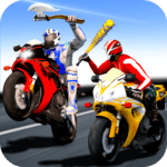 Bike Attack Race : Highway Tricky Stunt Rider for pc logo