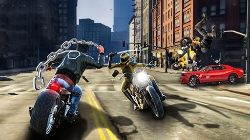 Bike Attack Race : Highway Tricky Stunt Rider PC screenshot 1