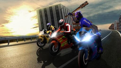 Bike Attack Race : Highway Tricky Stunt Rider PC screenshot 2