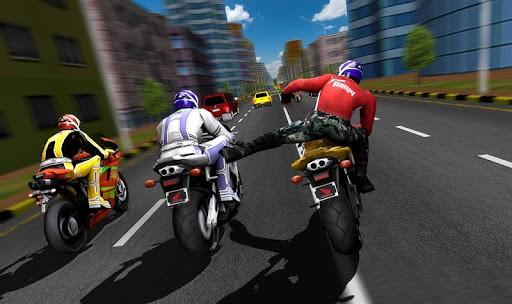 Bike Attack Race : Highway Tricky Stunt Rider PC screenshot 3
