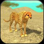 Wild Cheetah Sim 3D for pc logo