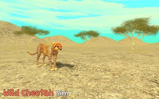 Wild Cheetah Sim 3D PC screenshot 1