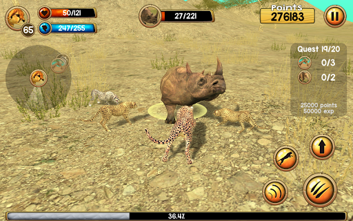 Wild Cheetah Sim 3D PC screenshot 2