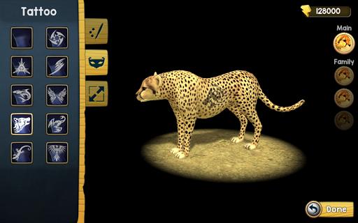 Wild Cheetah Sim 3D PC screenshot 3
