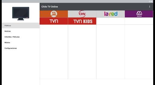 Chile TV Online pc screenshot 1