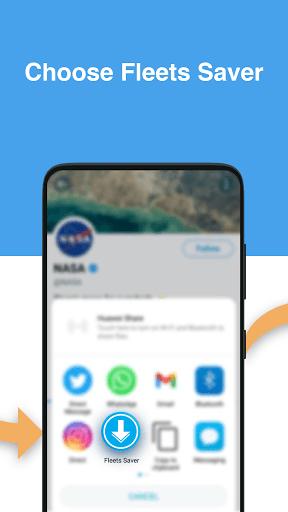 Twitter Fleets Saver & Downloader / Video Saver PC screenshot 3