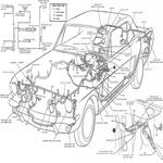 Car Wiring Diagram icon