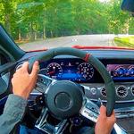 Racing in Car 2021 - POV traffic driving simulator icon