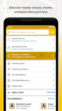 Untappd - Discover Beer pc screenshot 1