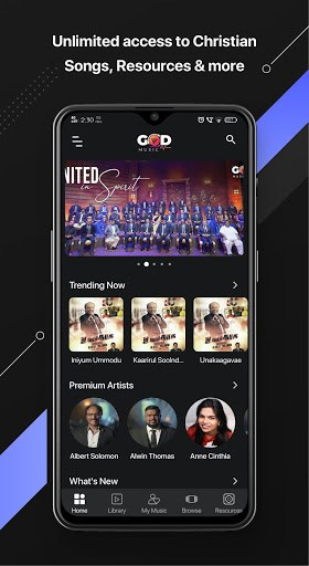 God Music pc screenshot 1