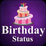 happy birthday status 2018 icon