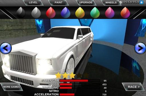 Limo Driving 3D Simulator pc screenshot 1