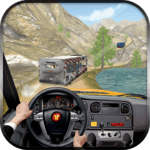 Off Road Tourist Bus Driving icon