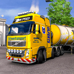 Oil Tanker Transporter Truck Games 2: Free Driving icon