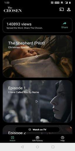 The Chosen: Jesus Christ Story - Watch The TV Show PC screenshot 1