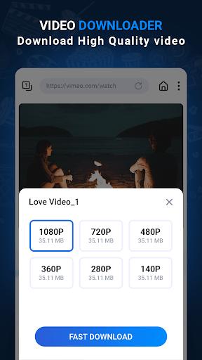 Video Downloader - Free Video Downloader pc screenshot 1