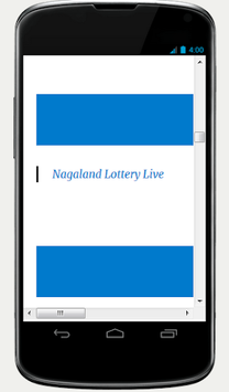 Nagaland Lottery Result pc screenshot 1