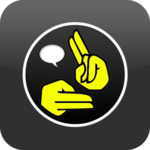 Sign Short Message Service icon