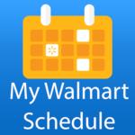 My Walmart Schedule icon