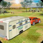 Camper Van Truck Simulator: Cruiser Car Trailer 3D icon