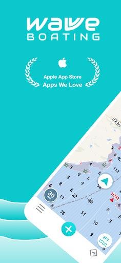Wavve Boating: Community Marine Navigation GPS PC screenshot 1