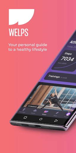 Welps – workouts & meals PC screenshot 1