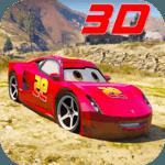 Superhero League (Lightning Car Stunts) icon