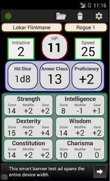 Fifth Edition Character Sheet pc screenshot 1