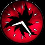 Sharingan Widget Clock Watch icon